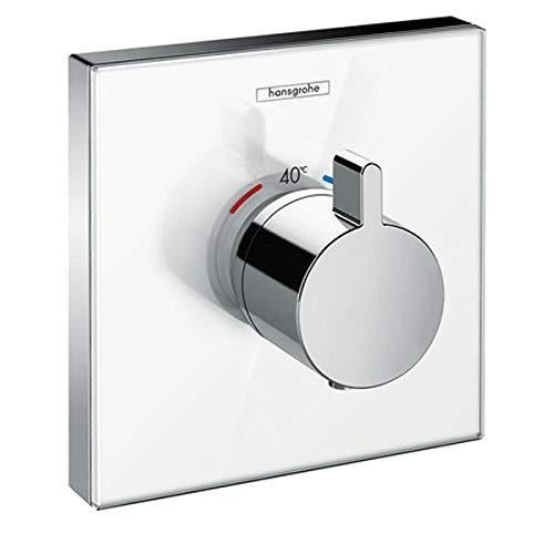 Hansgrohe ShowerSelect Glass Waschbecken Chrom, Weiß - Badarmaturen (Waschbecken, Chrom, Weiß)