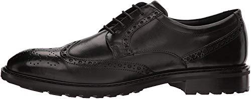 Ecco Vitrus I, Zapatos de Cordones Oxford Hombre, Negro (Black), 40 EU