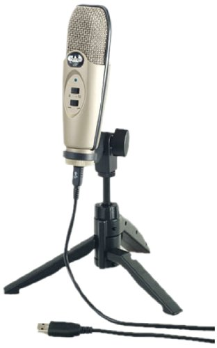 CAD Audio U37 USB Studio Condenser Microphone Review