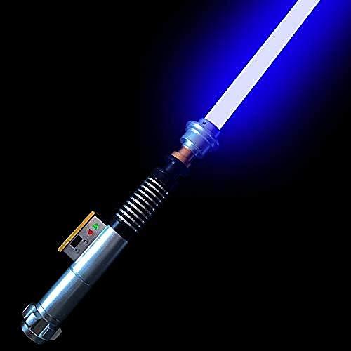 Rgb 11 Cambios de Color La Espada Luminosa Metal Espada Cosplay Juguete de Regalo Sonido Star Wars sable de luz obi wan kenobi sable de luz