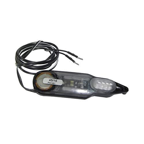 Yamaha Unisex– Erwachsene LED B&M Xeltec Rücklicht, weiß, One Size