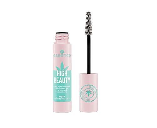 Essence High Beauty Volumen Mascara die Wimpern pflegt und stärkt Farbe: Schwarz Inhalt: 13ml Wimperntusche