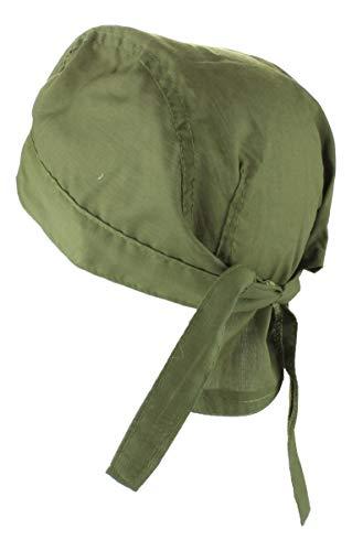 Alex Flittner Designs Bandana Cap unifarben olive