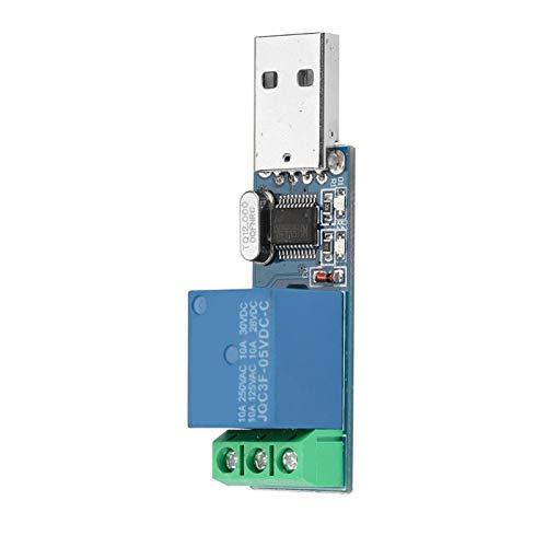 Interruptor de Control de Puerto Módulo de relé USB Inteligente de Bloqueo automático de un Solo Chip Avance para controlar