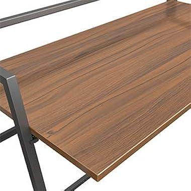 UMI. by Amazon Bureau Pliable d'ordinateur Bureau Informatique Pliant Travail PC Bois Portable Table 105 * 51CM