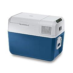 Mobicool MCF40, elektryczna chłodnica sprężarek, 38 l, 12/24/230 V, mini lodówka do samochodu, ciężarówki, łodzi + gniazda, A+ (nowa wersja FR40)