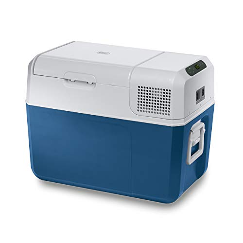 Mobicool MCF40 Nevera y congelador de compresor portátil, 38 l, con una capacidad de refrigeración de +10°C a -10°C para coche, camión, barco y autocaravana