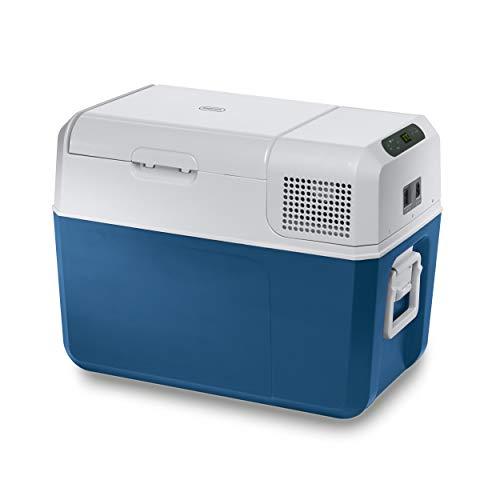 Mobicool MCF40, elektrische Kompressor-Kühlbox, 38 l, 12/24/230 V, Mini-Kühlschrank für Auto, Lkw, Boot + Steckdose, A+