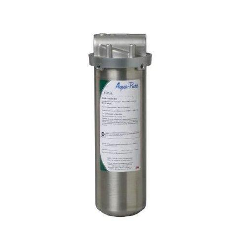 Aqua Pure SST1HA Industrial Grade Water Filter, Stainless Steel
