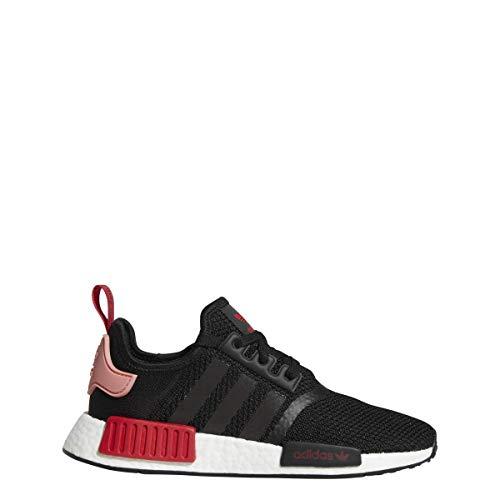 adidas Originals NMD_R1 Shoe Women's Casual 10 Core Black-Tactile Rose-Red