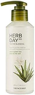 The Face Shop Herb Day 365 Master Blending Liquid Foam - Aloe and Green Tea, 215 ml