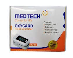 Medtech OG-05 Finger Tip Pulse Oxymeter for pulse oximeter for oxygen check