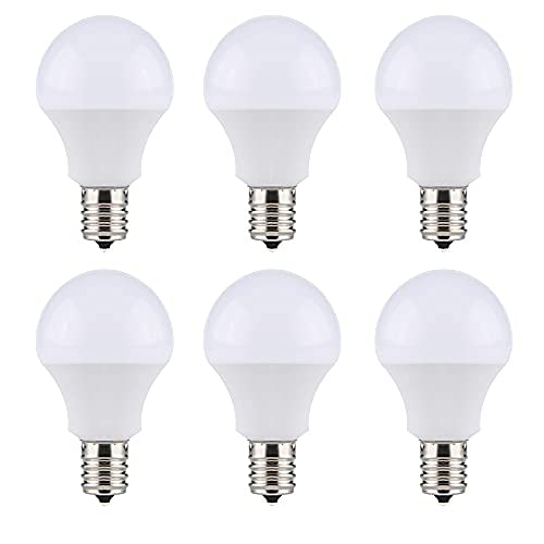 SenMeiGuang LED電球 e17 led 昼白色 6000K (6個セット) 80W形相当 9W 800lm 全方向広配光 密閉器具対応 断熱材施工器具対応 省エネ 高演色 e17 口金直径17mm 調光不可