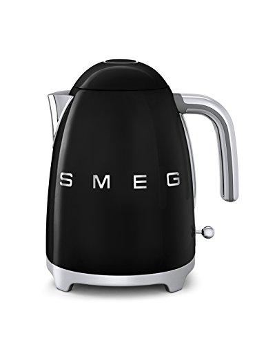 Smeg KLF01BLEU Wasserkocher 1,7 L, schwarz