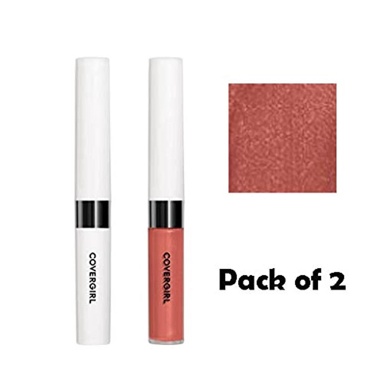 爆発物ミント持つCOVERGIRL Outlast All-Day Moisturizing Lip Color - Canyon 626 (2 Packs) [海外直送品] [並行輸入品]