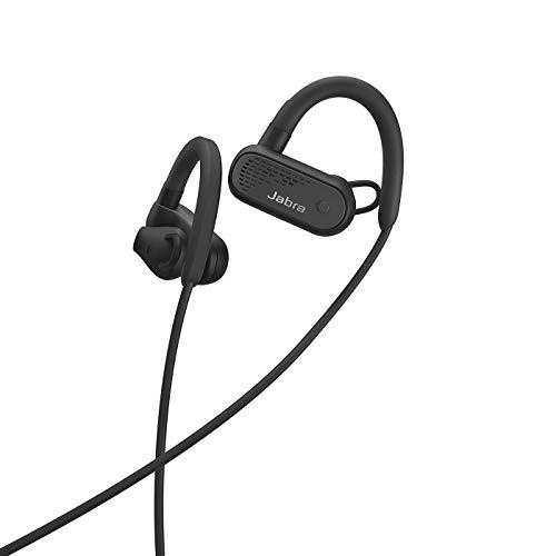 Jabra Elite Active 45e – Wassergeschützte Bluetooth Sport Kopfhörer zum kabellosen Telefonieren und Musik hören – Schwarz