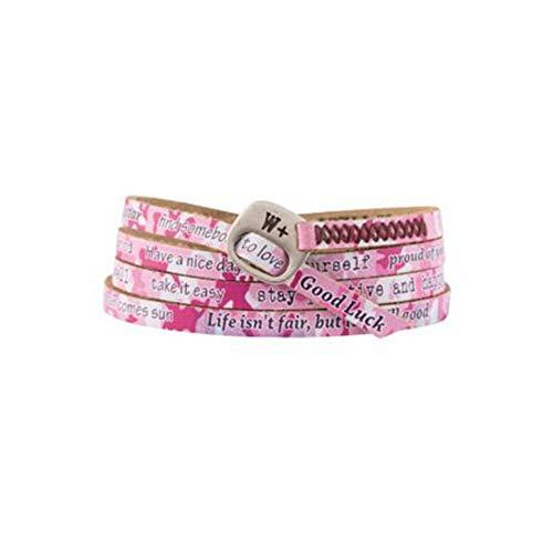 Camouflage Armband Pink We Positive