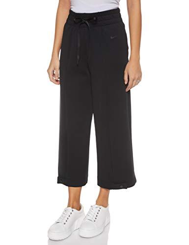 Nike Damen Dri-FIT Hose, Black/Black, S