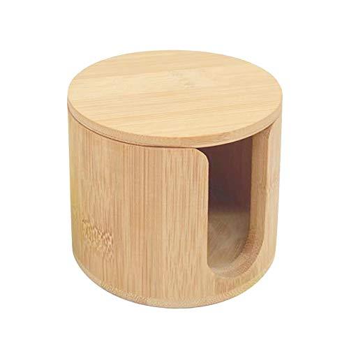 whelsara Almohadillas desmaquillantes Reutilizables Juego de 16 Piezas Almohadillas desmaquilladoras de bambú Lavables Suaves de Primera Calidad Almohadillas desmaquilladoras con Soporte Well-Matched