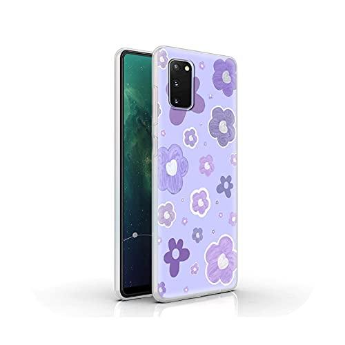 Funda de silicona de lujo para Samsung Galaxy S20 FE S10 S9 Plus S21 Ultra S8 suave mate cubierta cubierta cubierta lindo caramelo color parejas-S02-para Samsung S8
