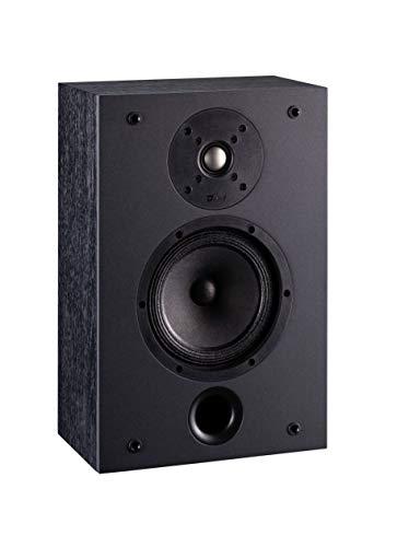 DAVIS ACOUSTICS Modell S – Paar flache Lautsprecher zum Aufhängen oder Einbau – 120 W – Befestigungssystem – Schwarz/Grau