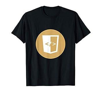 html coin Logo   The html coin Crypto and html Crypto Logo T-Shirt