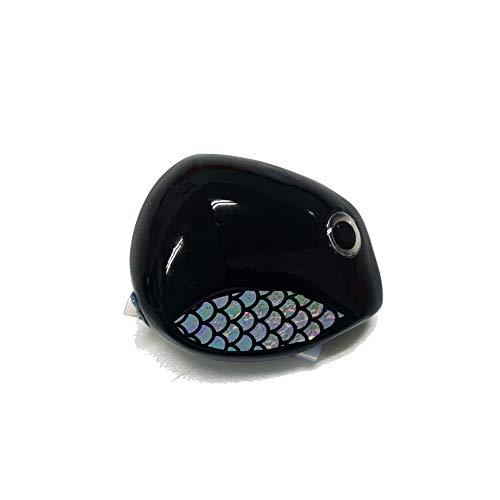 タイラバ 鯛ラバ ヘッドのみ 強波動 VIBES BULLET(バイブスバレット)80g 100g (ブラック, 125g)