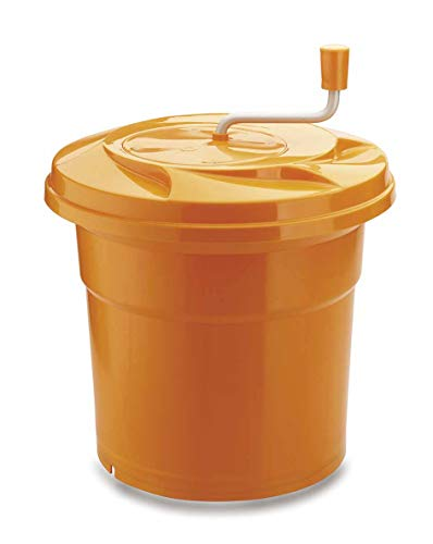 Lacor - 61425 - Centrifugadora Manual 25 Litros - Naranja