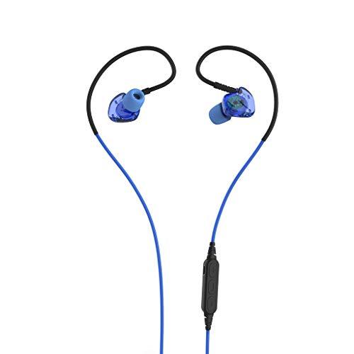 Alikeey Draadloze hoofdtelefoon Bluetooth headset 4.1 subwoofer zweetremmende in-ear sport draadloze headset oortelefoon voor iPhone, iPad, Samsung, Huawei, xiaomi en meer blauw