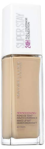 Maybelline New York Super Stay 24h Make-Up, Nr. 40 Fawn