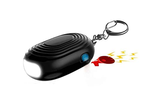VKYSINKO Personal AlarmTactical Flashlights LED Flash Light 130db Keychain Self Defense WomenPersonal Protection Devices for Women Kids and Elders