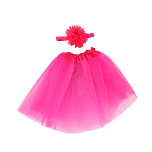 Falda de la Burbuja fotografía apoya recién Nacido Traje Ropa Traje Ropa fotografía apoya poliéster Lavar a Mano del bebé de la Falda diáfano, Rojo de Rose