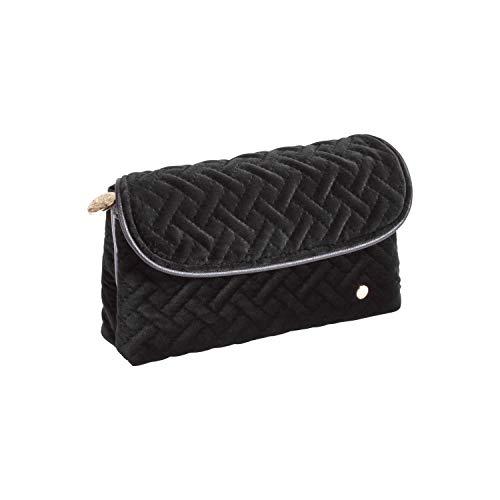 Stephanie Johnson Women's Milan Katie Folding Cosmetic Bag, Black, One Size