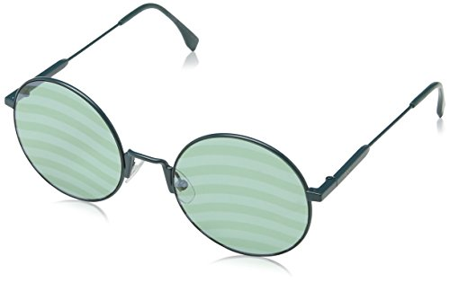 Fendi Women FF 0248/S 53 Green/Green Sunglasses 53mm