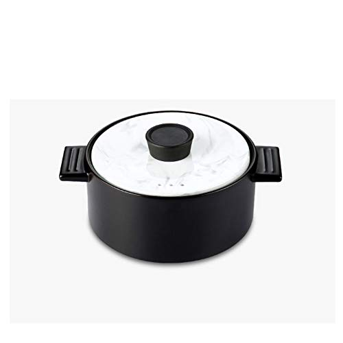 CJTMY Pie de la cazuela Guiso de Gas domésticos Resistencia al Fuego de cerámica de Alta Temperatura de la Arena crisol de la Sopa Olla de Barro Salud Pot