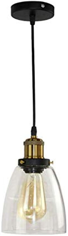 Leuchter-Pendelleuchte für Schlafzimmer-Esszimmer Flur Bar Club Hotel E27 Bernsteinfarbe, C