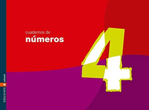 Cuaderno 4 de números (Infantil)