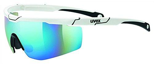 Uvex Sportstyle 117 Gafas de Ciclismo, Unisex Adulto, White, One Size