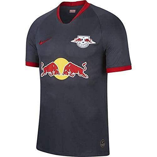 NIKE Rblz M Nk BRT Stad JSY SS AW Camiseta Fútbol, Hombre, Dark Obsidian/(University Red) (Full Sponsor), XL