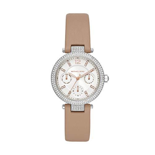 Michael Kors Reloj Analógico para Señoras de Cuarzo con Correa en Cuero MK2913