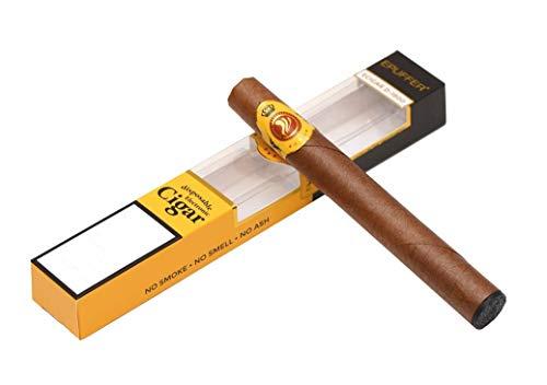 Elektronische Zigarre Epuffer Ecigar zum Einmalgebrauch 1800 Puff Pure Cuban Taste (ohne Nikotin oder Tabak)
