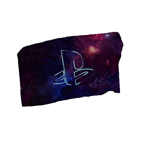 UNILIFE Toalla de Playa Playstation 4 Toalla Playa Toallas de Baño PS4 Gamepad Microfibra Súper Suave sin Arena de Secado Rápido
