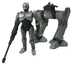 Kotobukiya Japan ROBOCOP & ED209 mini figure kit by Kotobukiya