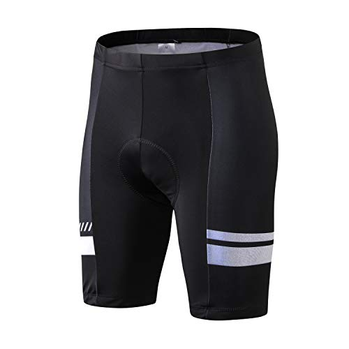 INBIKE Culotte Tirantes Ciclismo MTB Pantalones Cortos Hombre Badana Gel Ropa Interior Verano Ciclista Trajes de Bicicleta Montaña S