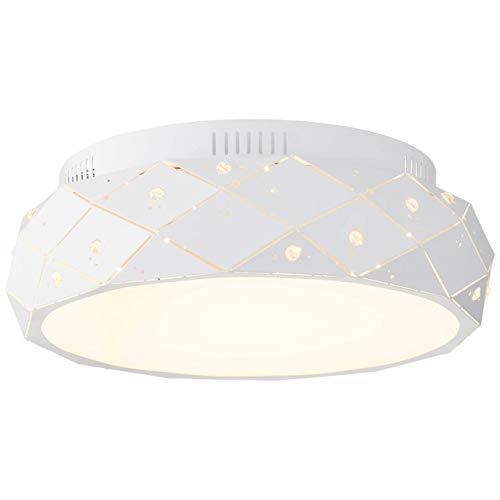 BRILLIANT lamp Fona LED plafondlamp wit 45cm mat |1x 23W LED geïntegreerd, (1690lm, 3000K) |Schaal A ++ tot E |Dimbaar in 3 stappen met een wandschakelaar