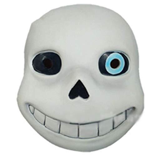 Y-RD Maske Halloween Cosplay Kostüm Cosplay Spectre Maske Scary Skull Skeleton Vollgesichtsmaske Halloween Carnival Party Merchandise Zubehör (Color : A)