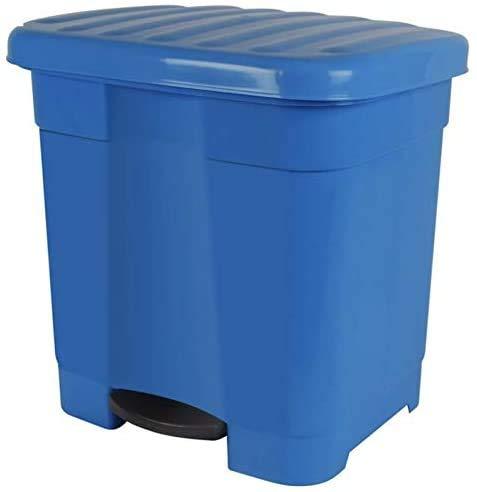 Cubo de Basura Pedal para Cocina 46L Reciclado Ecológico con 2 Divisiones...