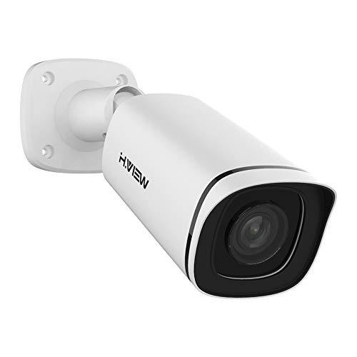 H.VIEW Security Camera 5MP Full Time Color Night Vision Outdoor POE IP...