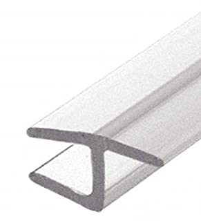 """CRL Clear Co-Extruded Bottom Wipe with Drip Rail for 3//8/"""" Glass 31 5//8/"""" Long"""
