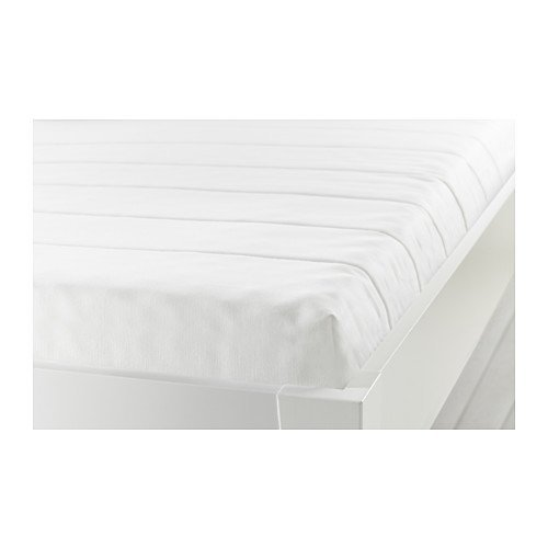 Ikea MINNESUND Twin Size Foam mattress, firm, white 828.51726.3026